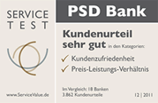 Testsiegel PSD